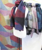 24 Units of Winter Warm Multicolored Fashion Scarf Assorted - Winter Scarves