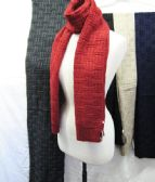 24 Units of Winter Warm Solid Fashion Scarf Assorted