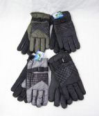 36 Units of Winter Warm Gloves Assorted Colors - Knitted Stretch Gloves