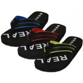 """36 Units of Men's """"Real"""" Sport Thong Sandals"""