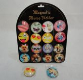 """120 Units of 2"""" Round Dome Magnets [Fun Prints]"""