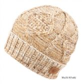 12 Units of MULTI COLOR KNIT BEANIE IN KHAKI WITH FUR LINING
