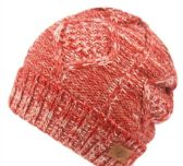 12 Units of MULTI COLOR KNIT BEANIE IN ROSE WITH FUR LINING