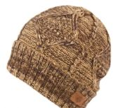 12 Units of MULTI COLOR KNIT BEANIE IN OLIVE WITH FUR LINING