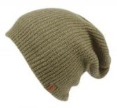 18 Units of 2 IN 1 REVERSIBLE SLOUCHY BEANIES IN OLIVE