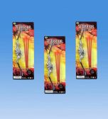 72 Units of Mini warrior arrow set in blister card