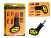 72 Units of 9pc Socket Wrench Screwdriver Set - Screwdrivers and Sets