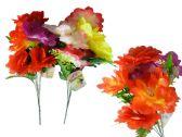 60 Units of Flower 7 Head 4l ayer 42cm L - Artificial Flowers