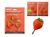 96 Units of Hooks 3 Piece /Set Fruit 2 Assorted