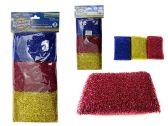 96 Units of Scouring Sponges 3 Piece 5x3""