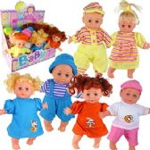 36 Units of SOFT BABY DOLLS.