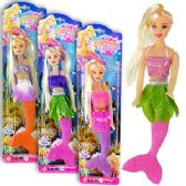 72 Units of MERMAID LEGEND DOLLS.