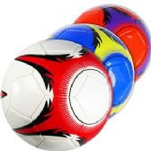 30 Units of OFFICIAL SIZE SNOWFLAKE SOCCER BALLS.
