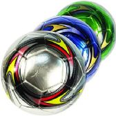 20 Units of OFFICIAL SIZE METALIC COLORFUL SOCCER BALLS