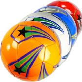 30 Units of OFFICIAL SIZE SHOOTING STARS SOCCER BALLS