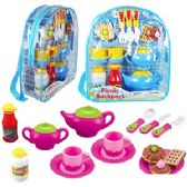 12 Units of 17 PIECE PICNIC BACKPACK SETS
