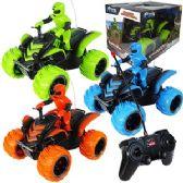 4 Units of REMOTE CONTROL JUMBO RALLY RACER ATVs