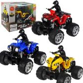6 Units of REMOTE CONTROL WILD RUNNER ATVs.