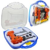 6 Units of 16 PIECE KID'S TOOL CARRIER.