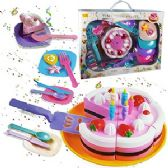 6 Units of 26 PIECE TIME TO CELEBRATE PARTY SETS