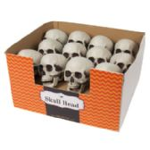 96 Units of Skull Head Plastic