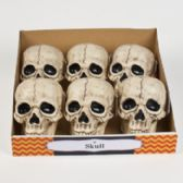 36 Units of Skull Head Plastic Deluxe