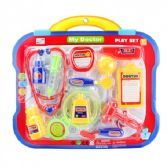 48 Units of 12 Pieces Doctor Play Set On Double Blister Card