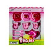 48 Units of 10 Pieces Tea Play Set In Open Blister Box