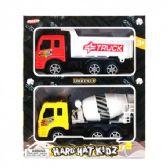 """48 Units of 7"""" F/F Dump Truck & 7"""" F/F Cement Truck In Window"""