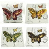 96 Units of THROW PILLOW (BUTTERFLY)