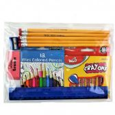 48 Units of School Supplies Kit - Case of 48 - School Supply Kits