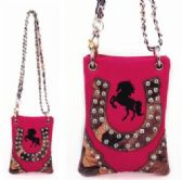 6 Units of Horse with Horse Shoe Design Min Sling Bag - Shoulder Bags & Messenger Bags