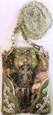 6 Units of Camo Rhinestone Cross Green Mini Sling Bag - Shoulder Bags & Messenger Bags