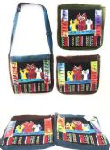 10 Units of Nepal Hobo Bags Group Owl Messenger Bag Style