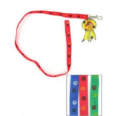 72 Units of Dog leash with paw print design - Pet Collars and Leashes