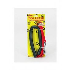 72 Units of Dog leash with rubber handle - Pet Collars and Leashes