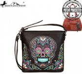 4 Units of Montana West Sugar Skull Collection Concealed Handgun Crossbody