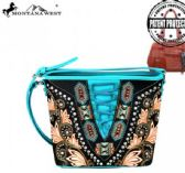 4 Units of Montana West Embroidered Collection Concealed Handgun Crossbody