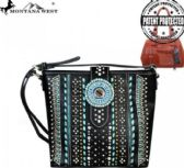 4 Units of Montana West Concho Collection Concealed Handgun Messenger Bag