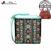 4 Units of Montana West Concho Collection Concealed Handgun Crossbody Bag