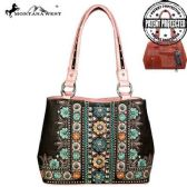 2 Units of Montana West Concho Collection Concealed Handgun Satchel Pink