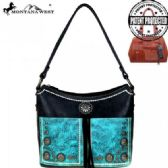 2 Units of Montana West Concho Collection Concealed Handgun Hobo Bag