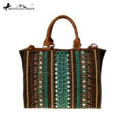 2 Units of Montana West Tribal Collection Concealed Handgun Satchel Coffee