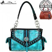 2 Units of Montana West Concho Collection Concealed Handgun Satchel