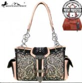 2 Units of Montana West Buckle Collection Concealed Handgun Satchel Bag