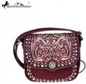 4 Units of Montana West Concho Collection Crossbody Bag Cut Out Pattern