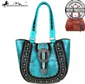 2 Units of Montana West Buckle Collection Concealed Handgun Tote