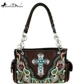 2 Units of Montana West Spiritual Collection Satchel Coffee