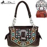 2 Units of Montana West Buckle Collection Concealed Handgun Satchel