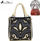 2 Units of Montana West Bling Bling Collection Concealed Handgun Satchel